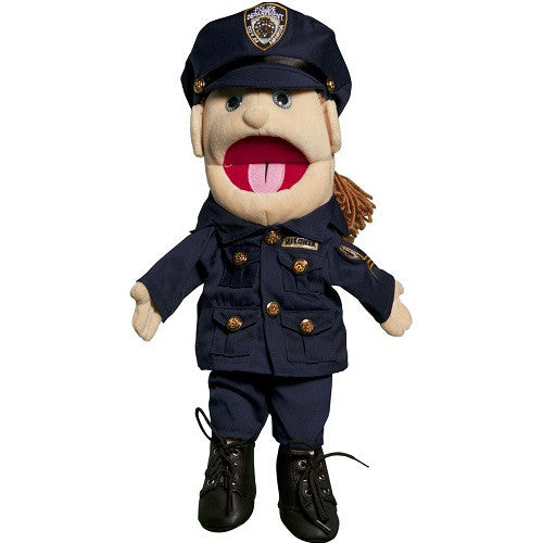 Police Woman Puppet