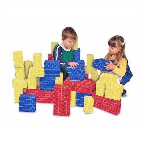 Multi-Colored GIANT Cardboard Blocks