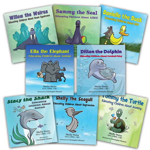 8d2d4d1f0cf6a0 Dillon and His Exceptional Friends Set of 8 Books