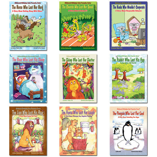 Early Prevention Series of 9 Books