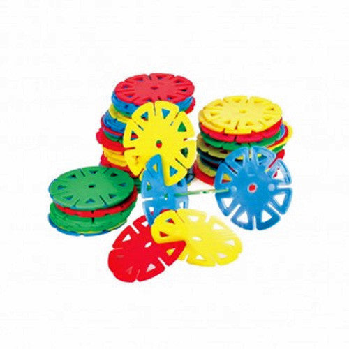 Big Building Wheels Set