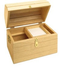 Birch Wood Treasure Chest
