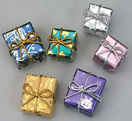 Gifts, Wrapped (Set of 6)