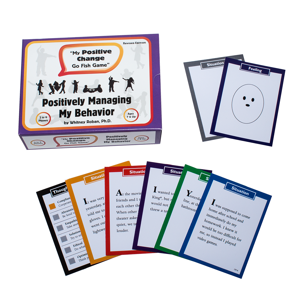 My Positive Change Card Game: Positively Managing My Behavior