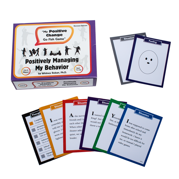 "My Positive Change ""Go Fish"" Card Games Set"