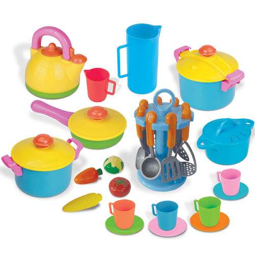 Super Kitchen Set (33 pieces)