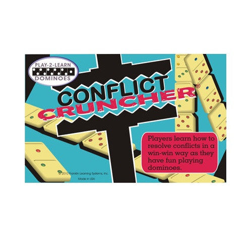 Conflict Cruncher: Play-2-Learn Dominoes