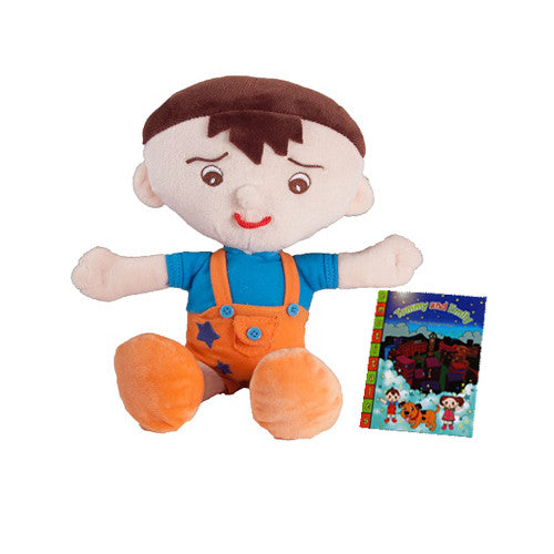 EmotiPlush - Tommy and EmotiTale Book