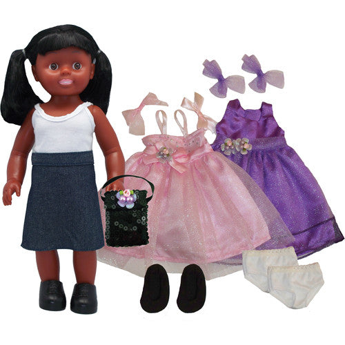 Princess Doll Set - African American