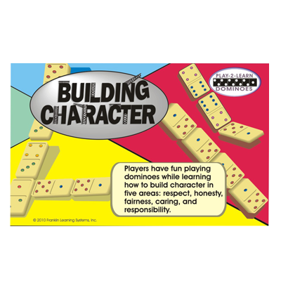 Building Character: Play-2-Learn Dominoes