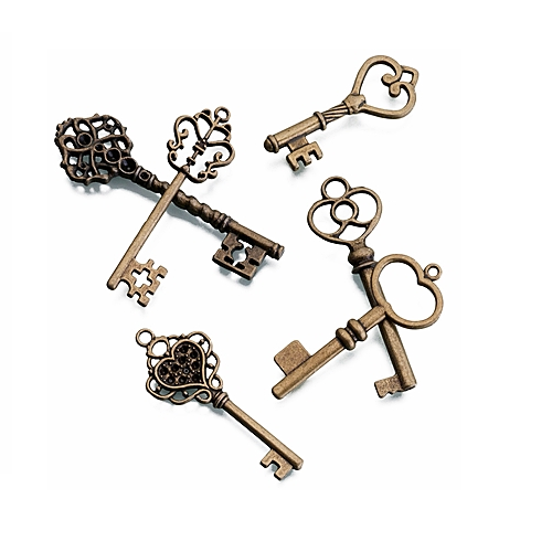 Fancy Bronze Keys (Pair)
