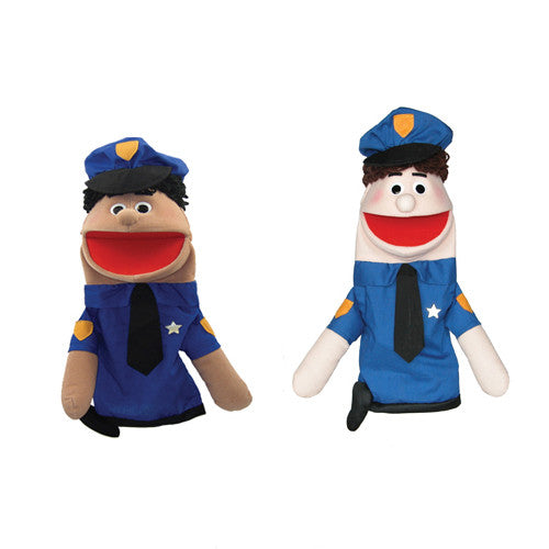 Police Officer Mike Puppet