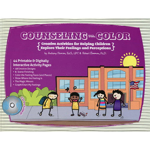Counseling With Color: Creative Activities for Helping Children (with CD)