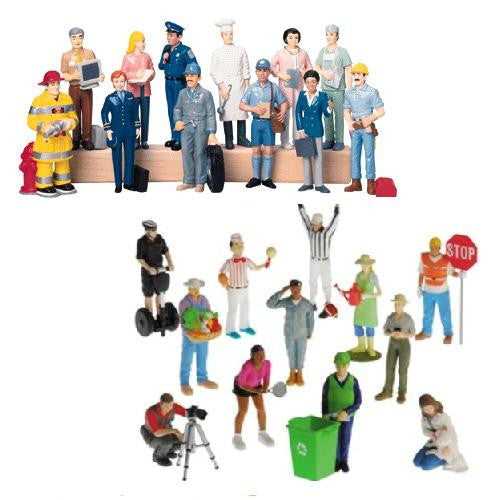 24 Career Figure Deluxe Set