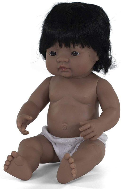15 Inch Anatomically Correct Hispanic Girl Baby Doll