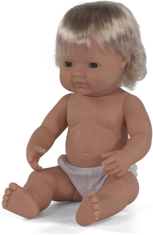 15 Inch Anatomically Correct Caucasian Girl Baby Doll