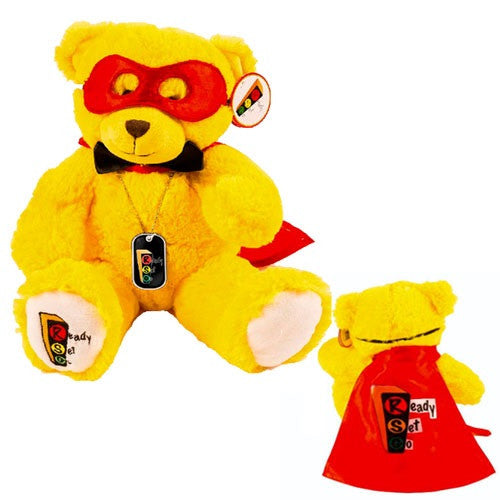 Brian, Super Hero Play Therapy Bear