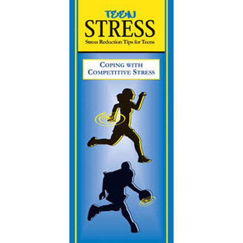 Teen Stress Pamphlet: Coping with Competitive Stress 25 pack