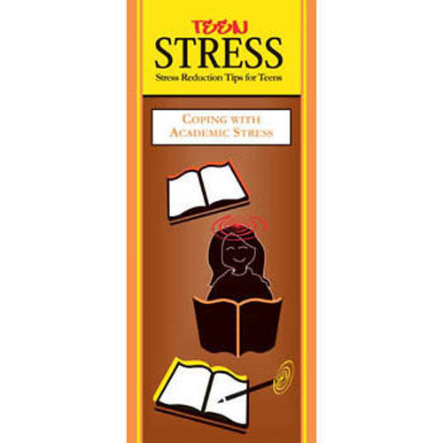 Teen Stress Pamphlet: Coping with Academic Stress 25 pack