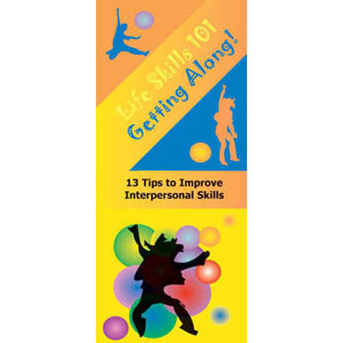 Life Skills 101 Pamphlet: Getting Along 25 pack