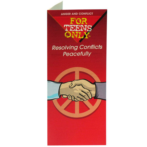 For Teens Only Pamphlet: Resolving Conflicts Peacefully 25 pack