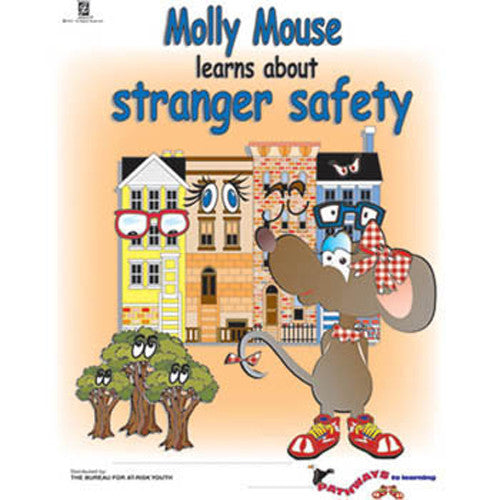 Pathways to Learning: (25 Pack) Molly Mouse Learns About Stranger Safety Activity Book*