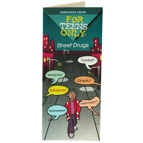 For Teens Only Pamphlet: Street Drugs 25 pack