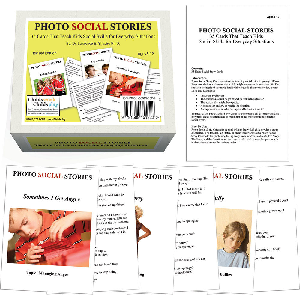 PHOTO SOCIAL STORIES CARDS