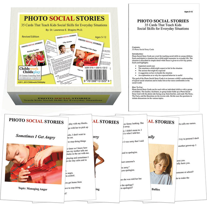 Photo Social Stories Card Game