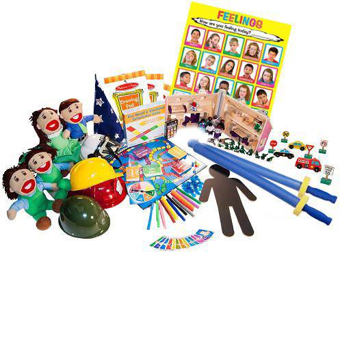 Large Play Therapy Toys Starter Set