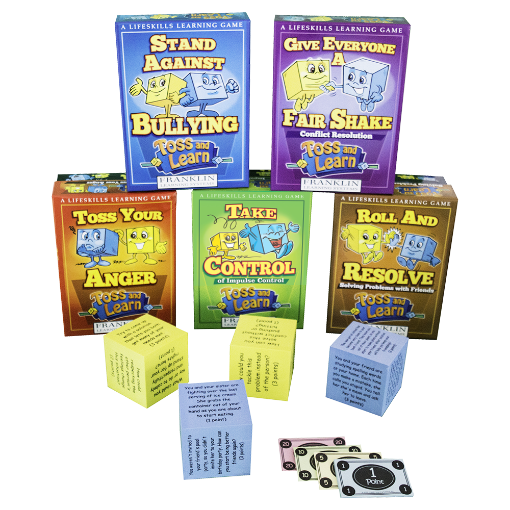 Toss and Learn Set of 5 Games