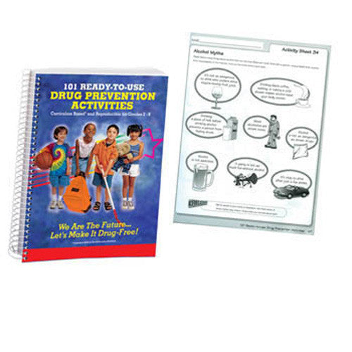 101 Ready-to-Use Drug Prevention Activities Book