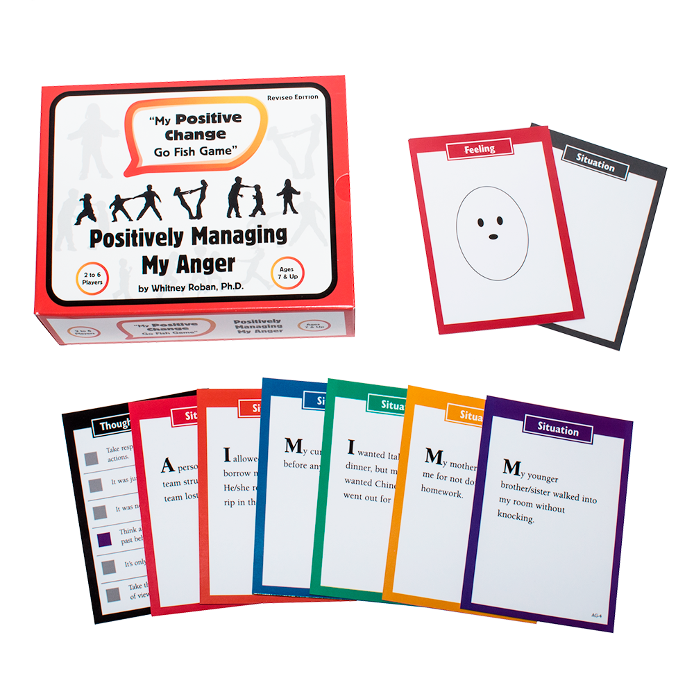 My Positive Change Card Game for Anger Control in Children