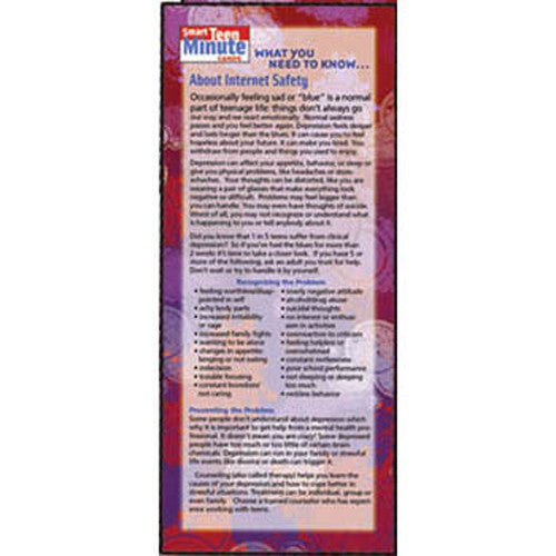 What You Need to Know... About Internet Safety Smart Teen Minute Card 50-pack