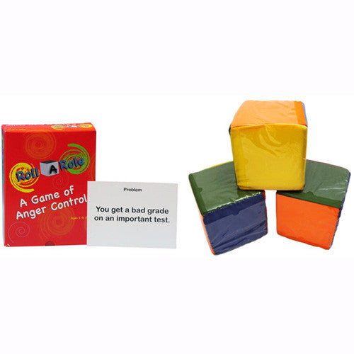 Roll A Role: An Anger-Management Game (Cards & Cubes Set)