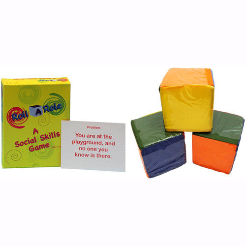 Roll A Role: A Social Skills Game Cubes & Cards Set