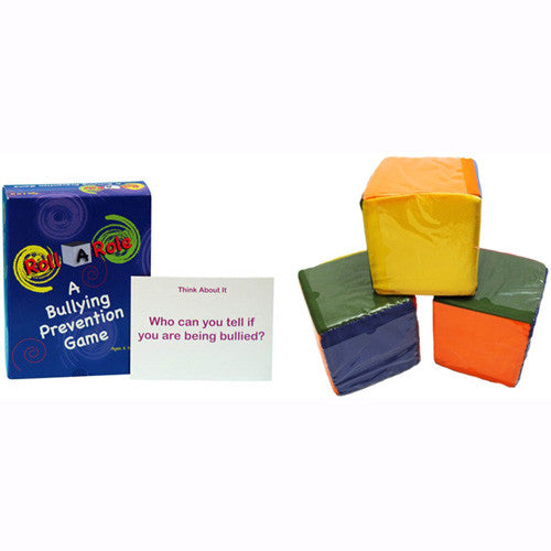 Roll A Role: A Bullying Prevention Game (Cards & Cubes Set)