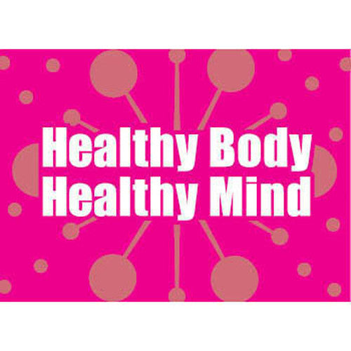Healthy Body Healthy Mind Cards for Adults