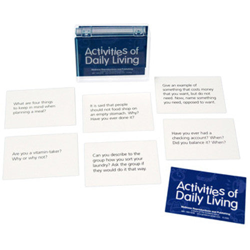 Activities of Daily Living Cards for Adults