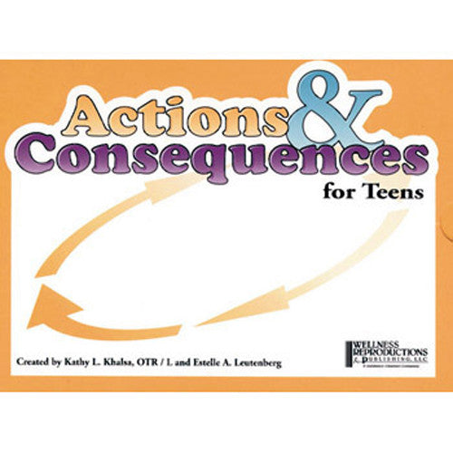 Actions & Consequences for Teens Card Game