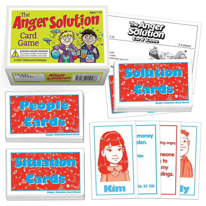 The Anger Solutions Card Game