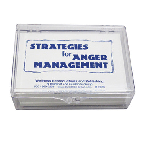 Strategies for Anger Management Cards