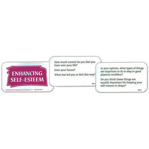 Enhancing Self-Esteem in Older Adults Cards