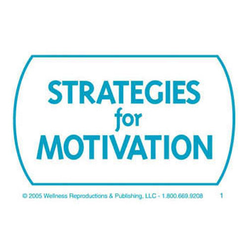 Strategies for Motivation Cards