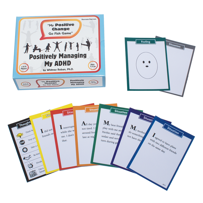 My Positive Change Go Fish Game: Positively Managing my ADHD