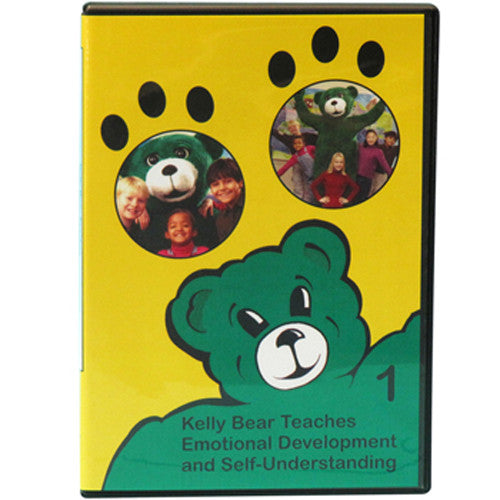 Kelly Bear Teaches About Emotional Development and Self-Understanding DVD