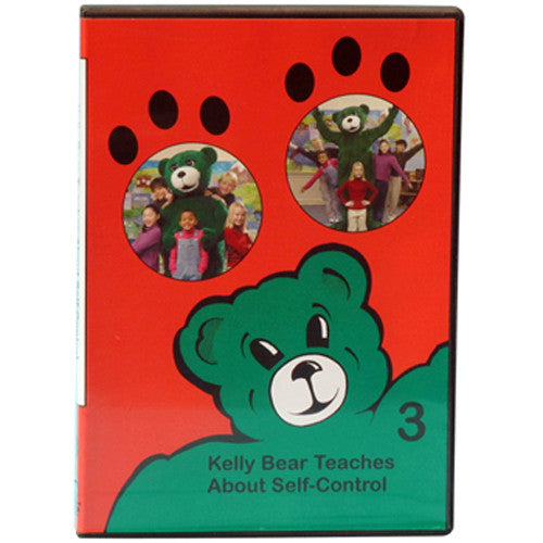 Kelly Bear Teaches About Self-Control DVD