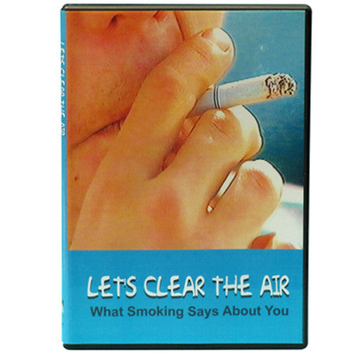 Let's Clear the Air: What Smoking Says About You DVD