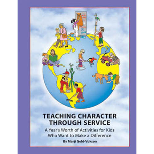 Teaching Character Through Service Book with CD