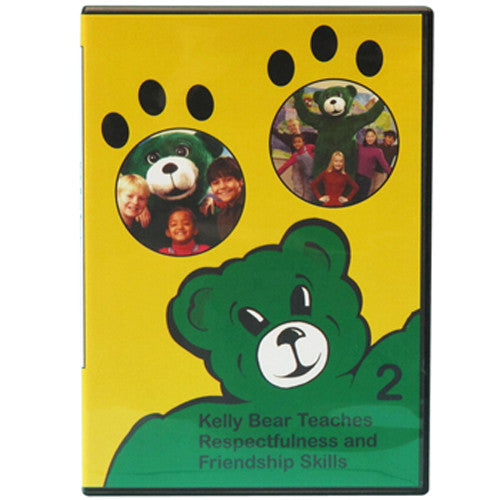 Kelly Bear Teaches About Respectfulness and Friendship Skills DVD